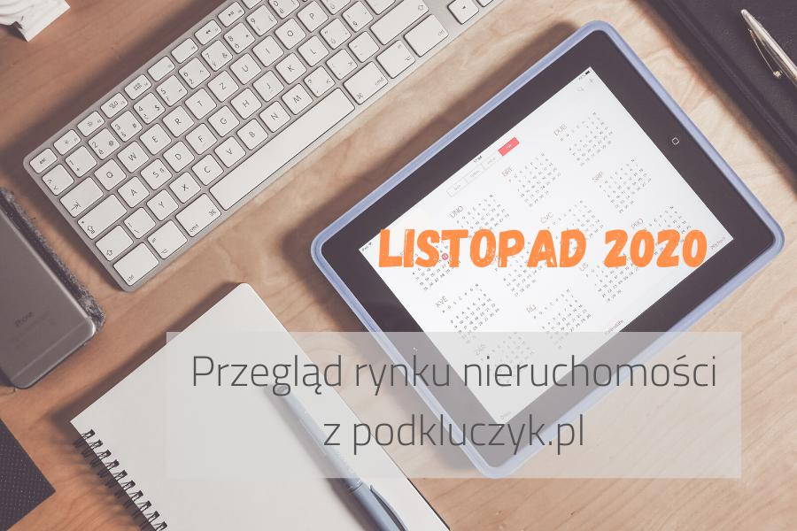Listopad 2020 – więcej niż wyszukiwarka mieszkań