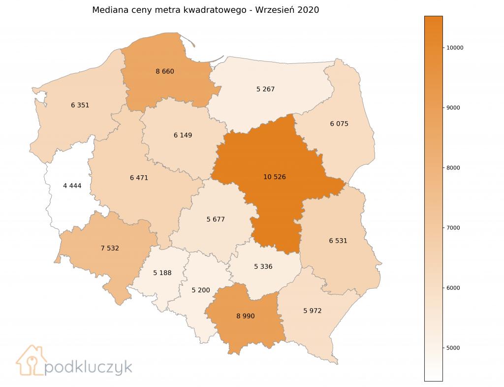 DRUGA FALA PANDEMII A CENY NIERUCHOMOŚCI - RAPORT. polska